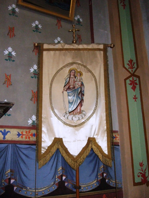 Bannière vierge - Eglise