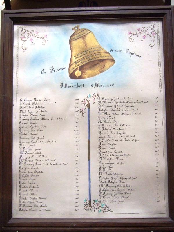 Baptêmes du 4 mai 1948