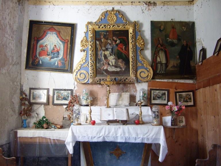 Chapelle Cruet interieur